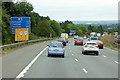 SX9388 : M5, north of Junction 31 by David Dixon