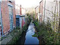 SE2836 : The Meanwood Beck below Monk Bridge by Stephen Craven