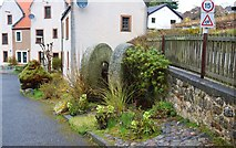 NO4102 : Millstones in Lower Largo by Bill Kasman
