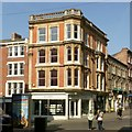 SK5739 : 21 St Peter's Gate, including 6 Bridlesmith Gate, Nottingham by Alan Murray-Rust