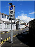 ST3091 : Zone/Parth sign, Woodlands Drive, Malpas, Newport by Jaggery