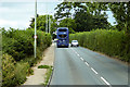 SX9887 : Exmouth Road (A376) approaching Ebford by David Dixon
