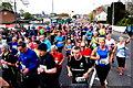 H4572 : Crowd of runners, Omagh Half Marathon by Kenneth  Allen