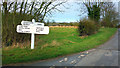 TA1844 : Crossroads at Goxhill by Des Blenkinsopp