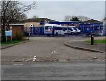 SO6302 : Northeast entrance to the Dean Academy, Lydney by Jaggery