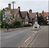 SO6302 : Traffic calming, Church Road, Lydney by Jaggery