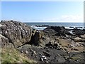 NT4999 : Rocky shoreline at Elie Ness by Oliver Dixon