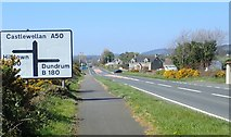 J3633 : The staggered B180 cross roads on the A50 Castlewellan Road by Eric Jones