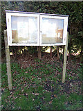 TM4599 : St. Olaves Village Notice Board by Adrian Cable