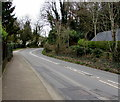 ST2687 : Bend in the A468 Caerphilly Road, Basseleg by Jaggery