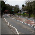 ST2687 : Twin pelican crossings, Caerphilly Road, Rhiwderin by Jaggery