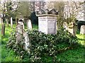 TG2408 : The grave of George Robert Womack by Evelyn Simak