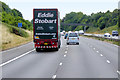 SO7300 : Stobart Truck Heading South on the M5 near Cam by David Dixon