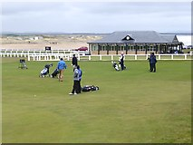 NO5017 : Golf on the Old Course by Oliver Dixon