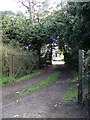 TM4796 : Entrance to the former Station Building by Adrian Cable