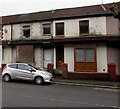 ST0789 : Boarded-over house window, Broadway, Treforest by Jaggery
