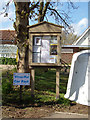TM4897 : Somerleyton Village Notice Board by Adrian Cable