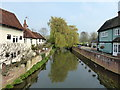 TL8422 : River Blackwater at Coggeshall by PAUL FARMER