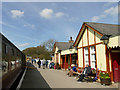 SE0653 : Bolton Abbey station buildings  by Stephen Craven