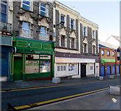 ST1599 : Emporium Snooker Club, High Street, Bargoed by Jaggery