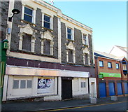 ST1599 : Derelict former convenience store, High Street, Bargoed by Jaggery