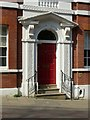SK5639 : Doorway at Sheriff House, St James's Street, Nottingham by Alan Murray-Rust
