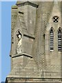 SK5640 : Pugin's spire, Nottingham Cathedral – detail by Alan Murray-Rust