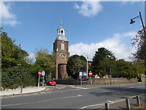 TQ1068 : St Mary, Sunbury-on-Thames: spring 2019 by Basher Eyre