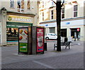 ST3187 : Phonebox adverts, Commercial Street, Newport by Jaggery