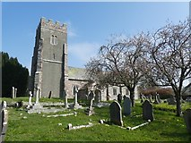 SX8591 : Holcombe Burnell church by David Smith