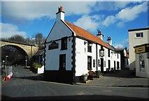 NO4102 : The Railway Inn, Lower Largo by Richard Sutcliffe
