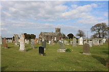 NX6248 : Borgue Church and Kirkyard by Billy McCrorie