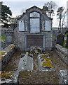 NO5597 : Farquharson of Finzean burial enclosure, Birse kirk by Bill Harrison