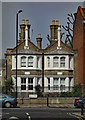 TQ3384 : Dalston : East Villa, Metropolitan Benefit Society's Alms Houses by Julian Osley