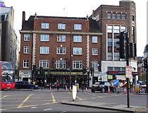 TQ2882 : The Greene Man public house, Euston, London NW1 by JThomas
