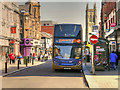 SD7109 : Bus Stop on Deansgate by David Dixon