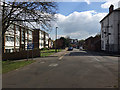 SP3477 : South on Whitley Village, south Coventry by Robin Stott