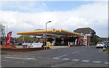 TQ0487 : Service station on North Orbital Road, Denham by JThomas