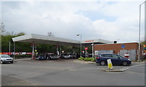 TQ1185 : Supermarket service station off Victoria Road, Ruislip by JThomas