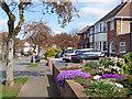 SO9096 : Front gardens in Penn, Wolverhampton by Roger  Kidd