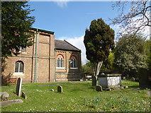 TQ1068 : St Mary, Sunbury-on-Thames: churchyard (a) by Basher Eyre