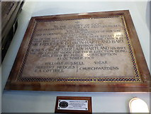 TQ1068 : St Mary, Sunbury-on-Thames: memorial (1) by Basher Eyre