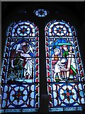TQ1068 : St Mary, Sunbury-on-Thames: stained glass window (1) by Basher Eyre