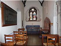 TQ1667 : Inside St Nicholas, Thames Ditton (E) by Basher Eyre