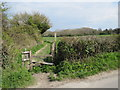 TQ3213 : Public footpath near Ditchling by Malc McDonald