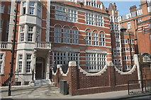 TQ2880 : Education in Mayfair by Anthony O'Neil