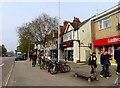 SP5407 : Shops on London Road by Steve Daniels