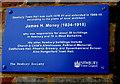 SU4767 : Newbury Town Hall blue plaque by Jaggery