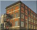 TQ3883 : Stratford Workshops by Derek Harper
