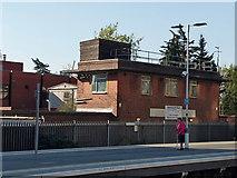 TQ3266 : Building, Network Rail East Croydon Maintenance Depot by Robin Webster